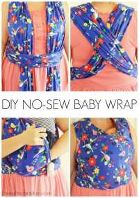 Moby Wrap Instructions (How to Use a Baby Wrap)