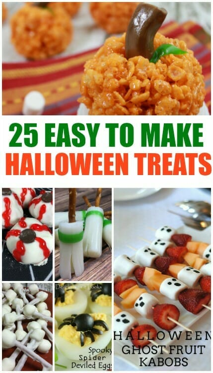 Halloween Meal Ideas For S | Fun Ideas For Halloween Treats Cartoonview Co