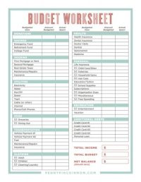 How to Create A Budget That Works (Step