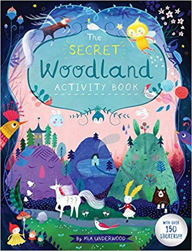 Secret Woodland Activity Book