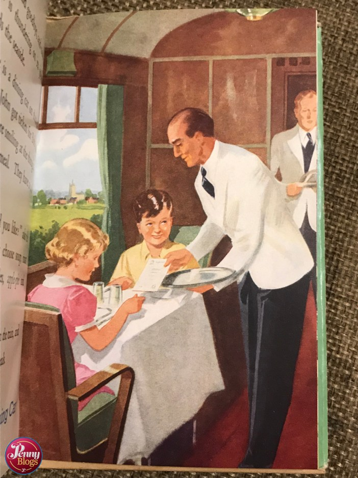 Ladybird Tuesday In the train with Uncle Mac