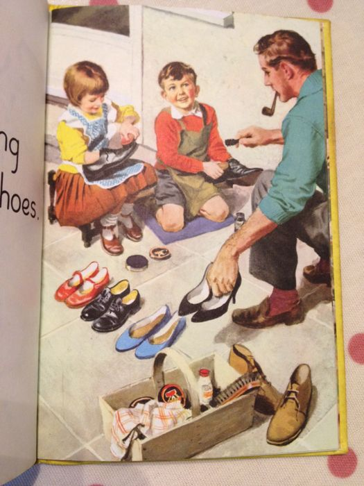 Ladybird Tuesday - Helping at Home