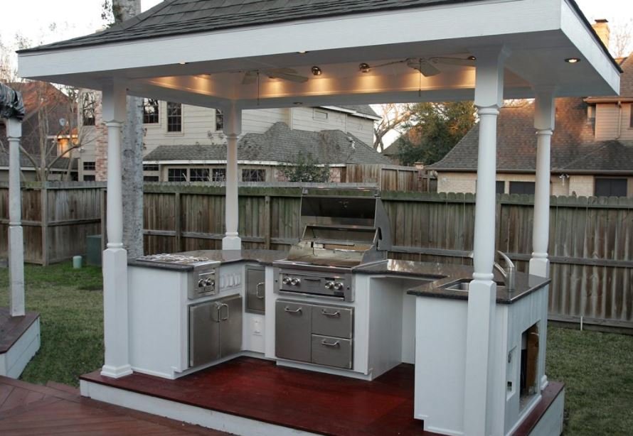 outdoor kitchens on a budget kitchen faucet hose extension ideas pennysaver coupons classifieds