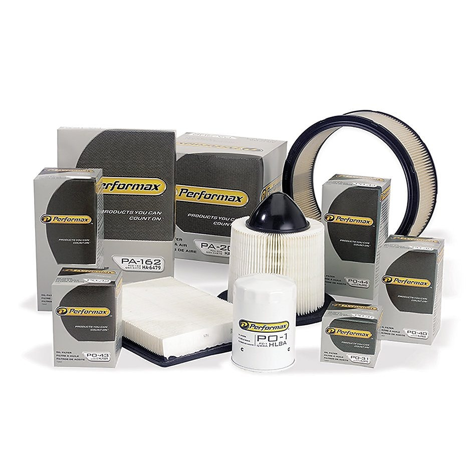 hight resolution of performax family of oil filters and air filters