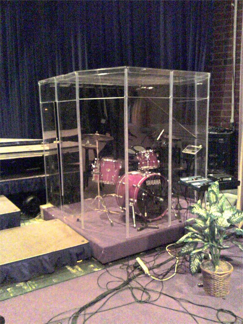 Drum Cage Drum Booth Drum Shields