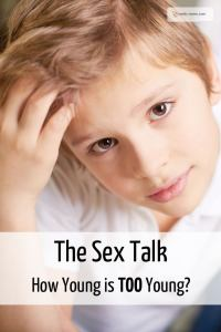 talk children sex
