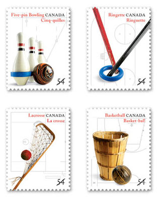Canadian Sport Stamps