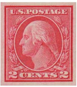 U.S. #459 Washington Coil Stamp
