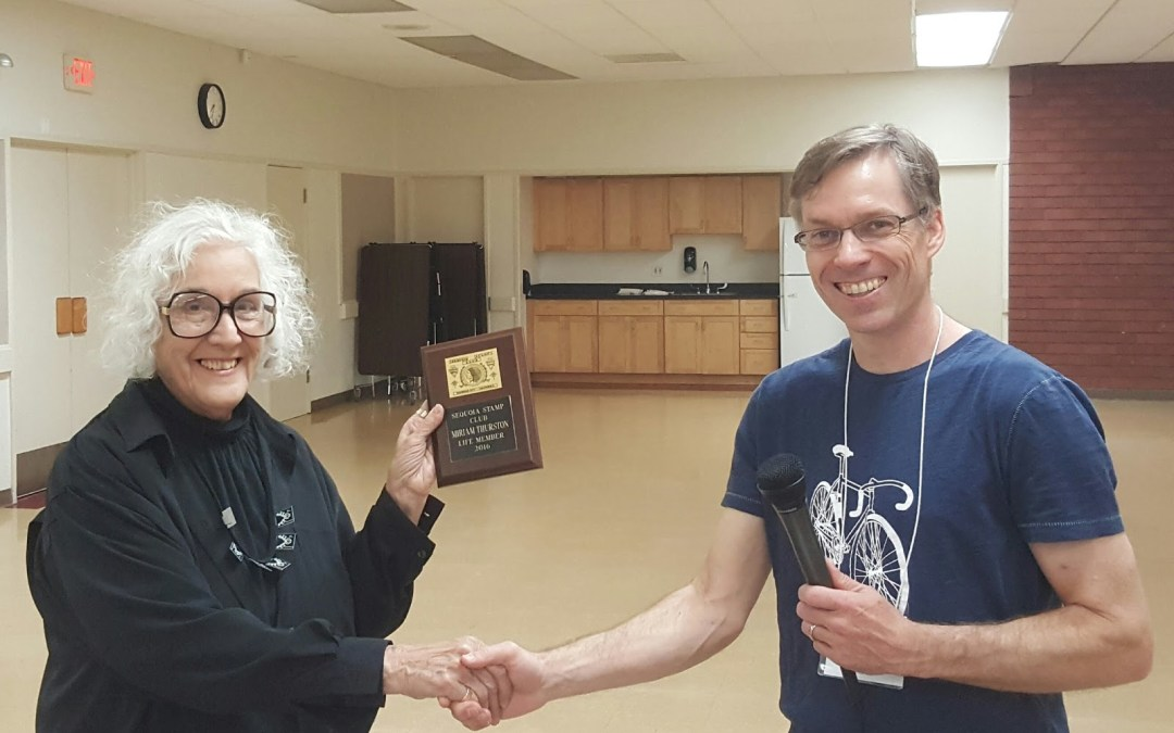 Miriam Thurston and Ed Bierman Approved for Life Membership