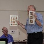 Victor Ivashin's presentation on Russian air stamps, June