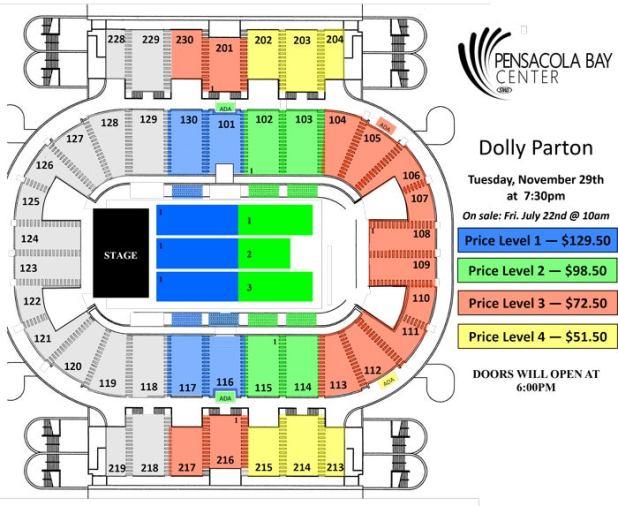 Pensacola Civic Center Seating Chart Brokeasshome Com