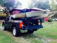 Homemade Kayak Rack (truck)