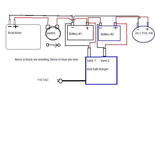 24 Volt Wiring Diagram For Trolling Motor Batts