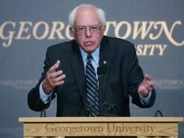 Bernie Sanders speaks on democratic socialism 1