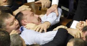 Session of the Ukrainian parliament