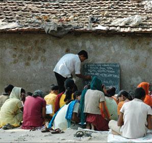 La scuola di Babar Ali