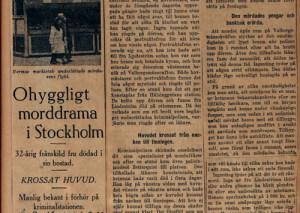 Lilly Lindström_atlas vampire_newspaper