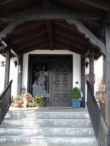Pension Zwiesel Hauseingang