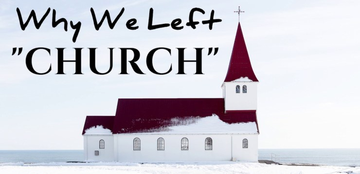 """Why don't you go to church?"" 12 reasons for church ministers to reflect on"