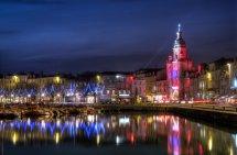 Christmas Lights In La Rochelle France