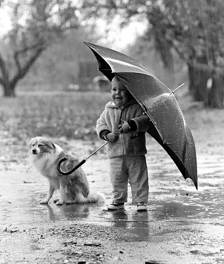 A Boy and His Dog - PentaxForums.com