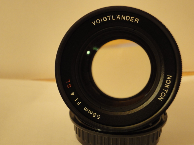 Voigtlander Nokton 58 mm F1.4 lens - PentaxForums.com