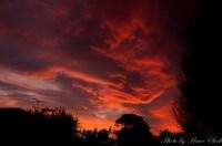 Sunset from Backyard - PentaxForums.com