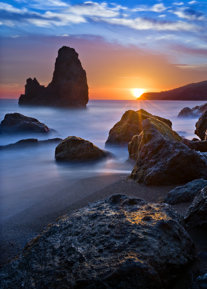 Rodeo Beach Sunset  Pentax User Photo Gallery