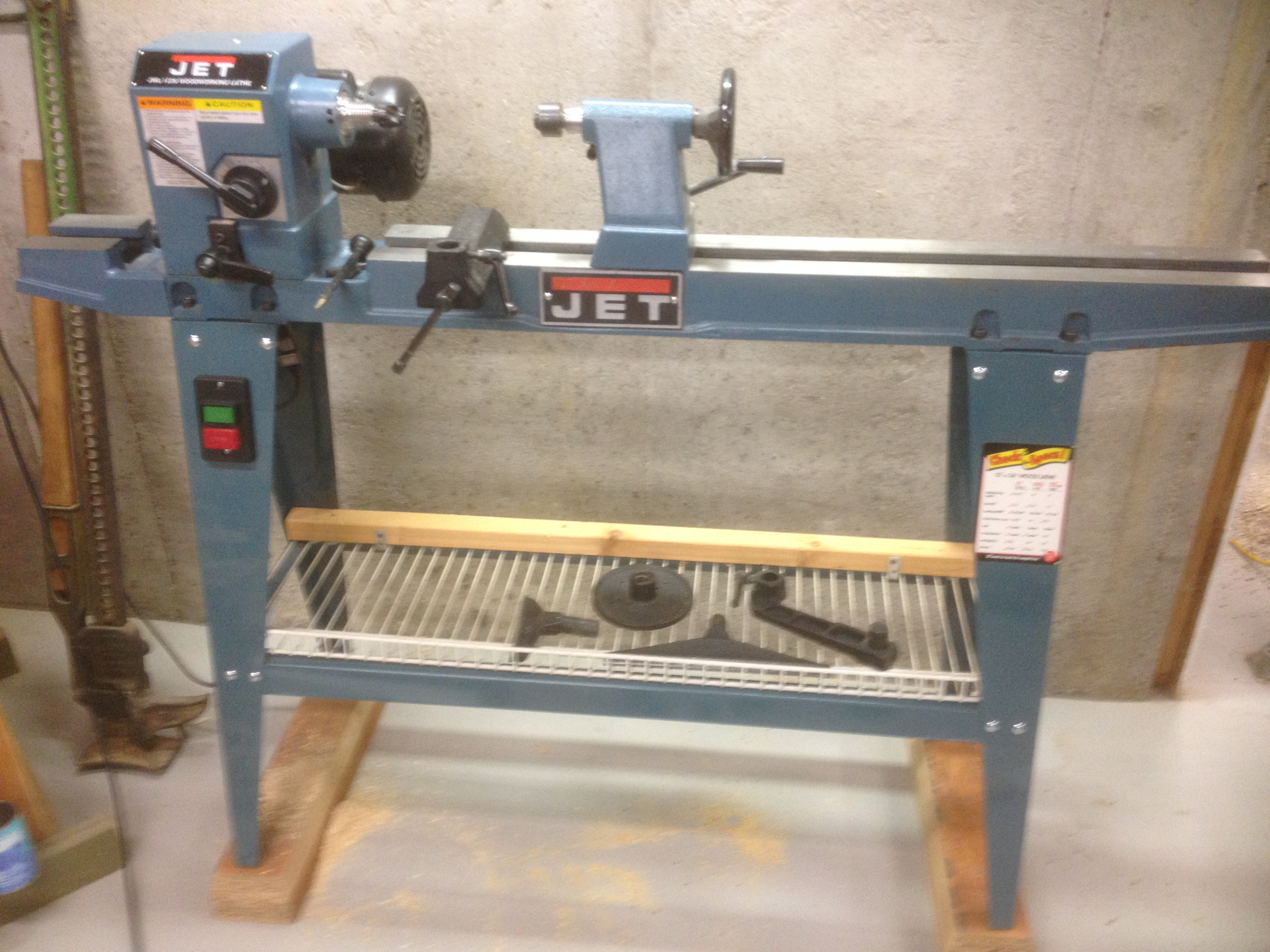 Jet 1236 Wood Lathe Manual