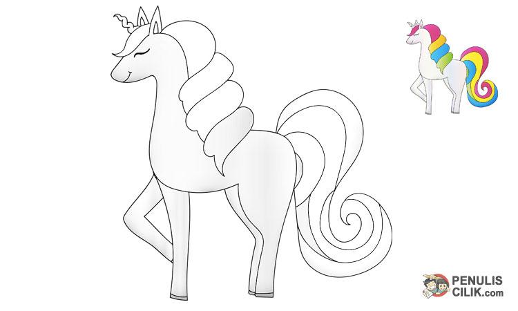 Gambar Kuda Yang Lucu