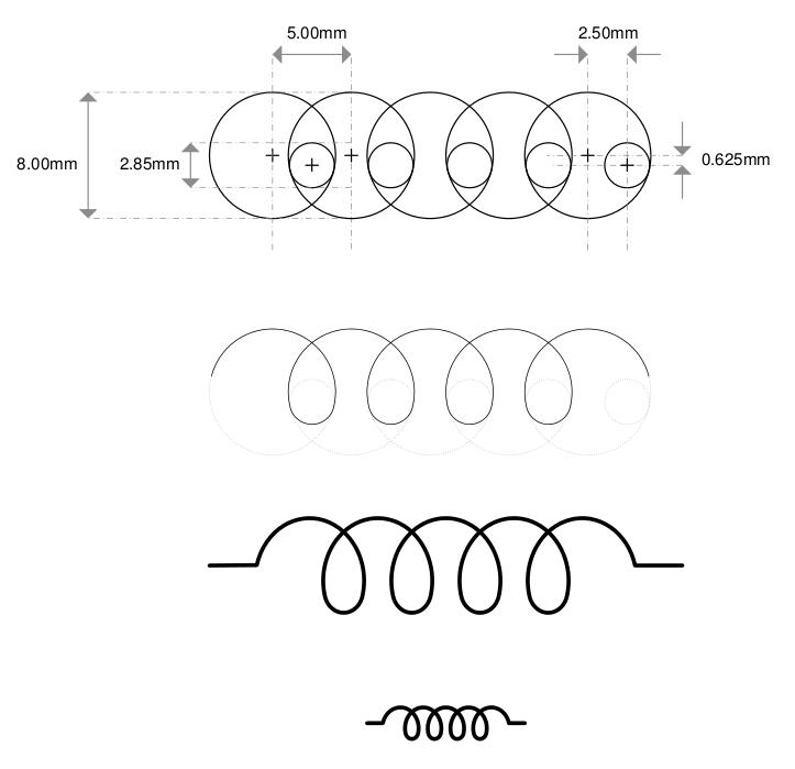 Inductor Symbol Visio