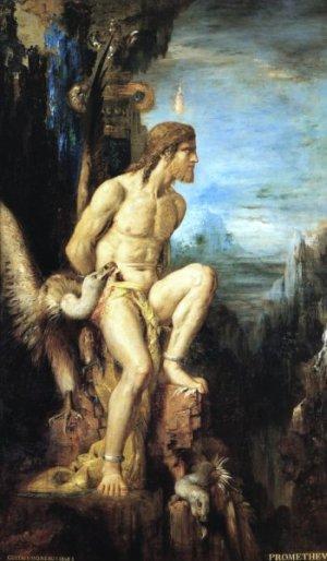 «Прометей» Gustave Moreau