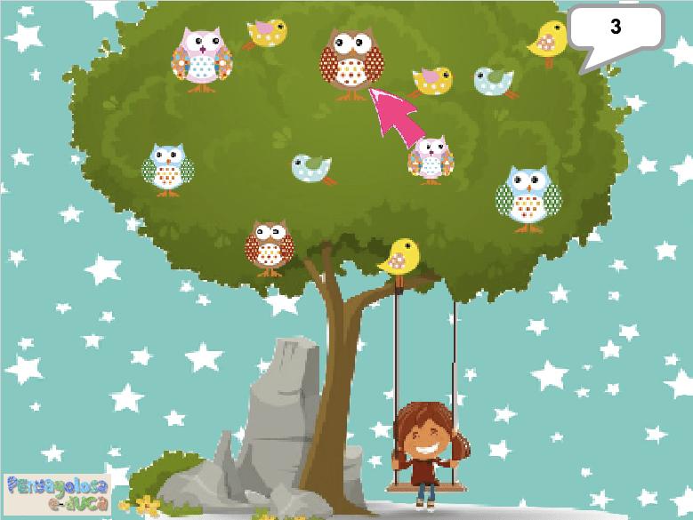 Cuenta con la niña las aves en el árbol (11-15)