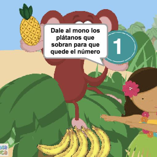 Dale al mono los plátanos que sobran (1-5)