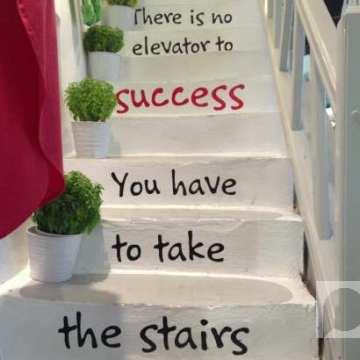 Nema lifta do uspeha – Moraćete stepenicama