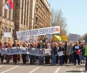 Skupština USPS: Podrška protestima studenata i građana Srbije i zahtevi penzionera