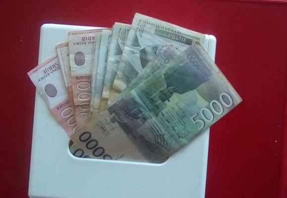 Poznat datum isplate 50 evra penzionerima