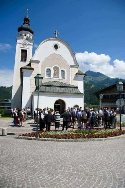 Pfarrkirche oberndorf