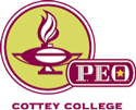 P.E.O. Cottey College logo