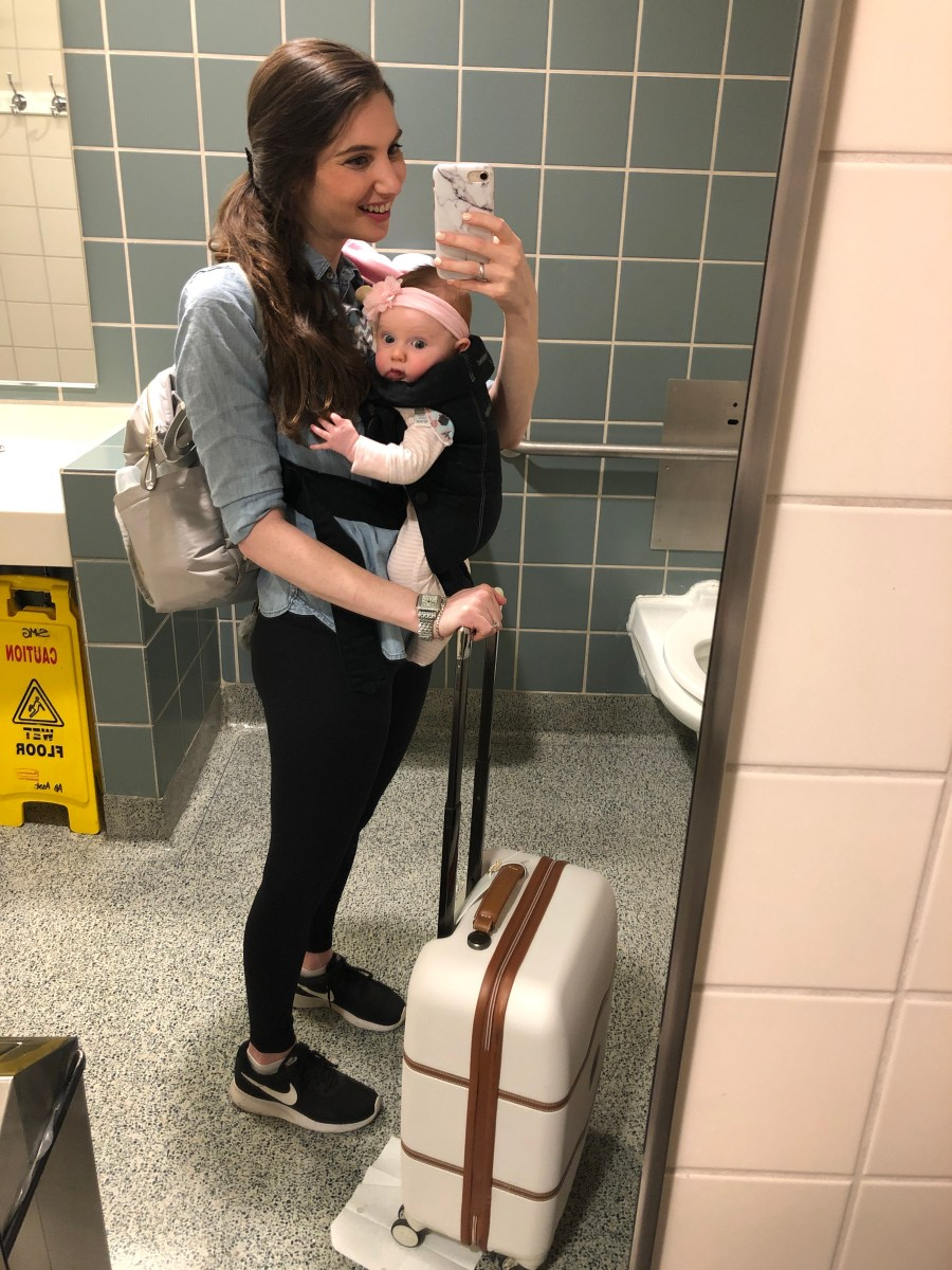 Flying Solo with an Infant: What I've Learned
