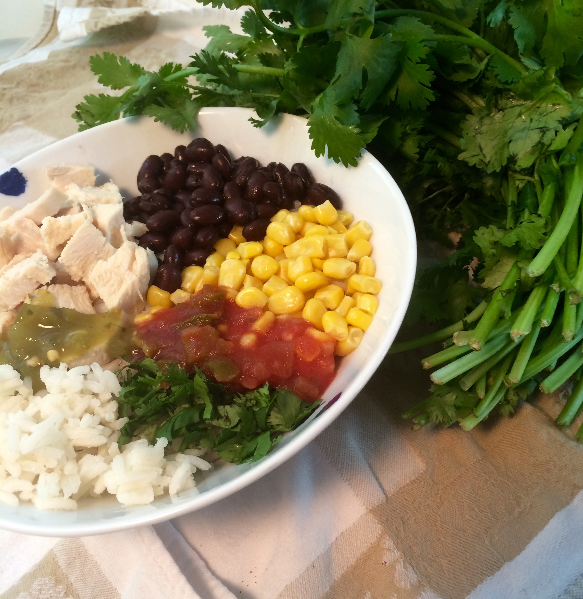 Easy and Healthy Burrito Bowl