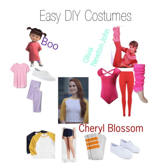 Easy DIY costumes