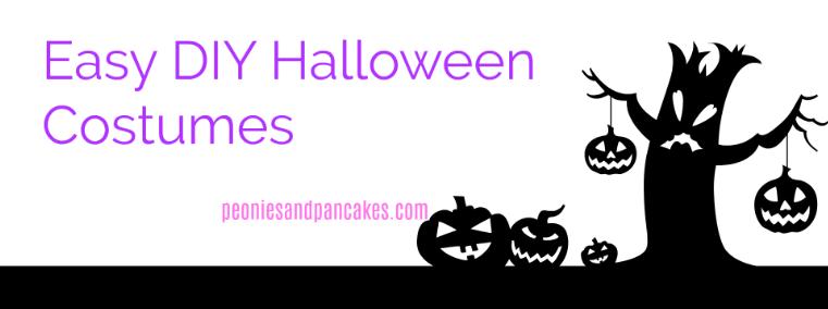 Easy DIY Halloween Costumes
