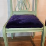 Mint and Purple Chair Ready to Go!