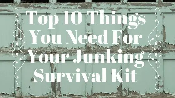 Top 10 Things You Need For Your Junking Survival Kit