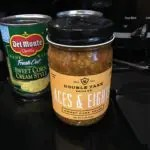 Aces and Eights Salsa Jar