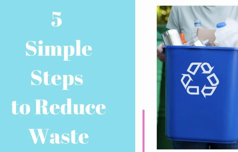Greener Living 5 Simple Steps to Reduce Waste
