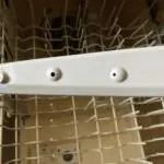 Cleaning Dishwasher Spraying arm holes