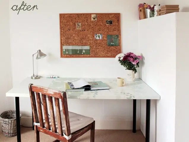 DIY Desk Makeover Tutorial