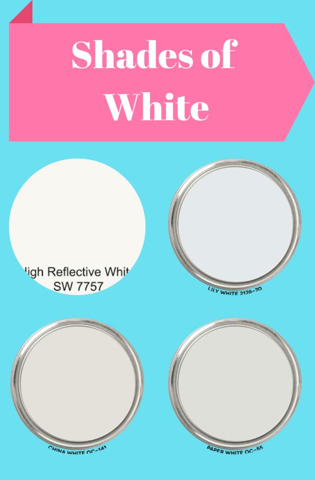 White Paint Shades